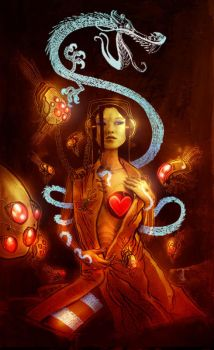 Popgun Anthology 4 Cover by Templesmith