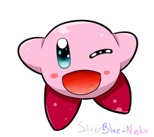 Quick Kirby by SilverBlue-Neko