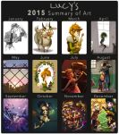 2015 Art Summary by Timidemerald