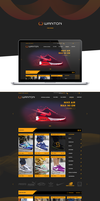 Wanton - Web Design by KamilBachanek