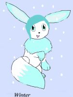 Winter the Evee by Ciniminimon