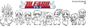 bleach chibis by ShadowStalker002