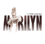 Marilyn Monroe logo by Elias-Chatzoudis