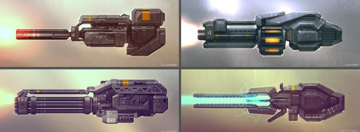 QR Weapons 03 by Talros