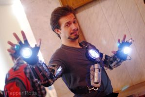 Tony Stark cosplay by PepperStark