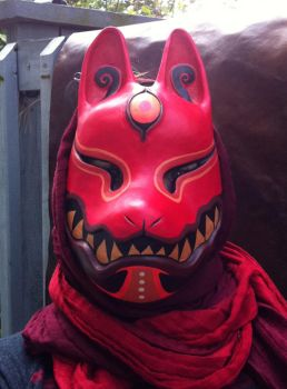 Kitsune mask by missmonster
