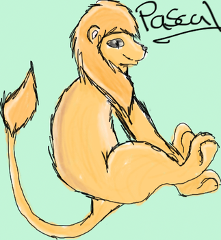 Pascal The Lion by hiddenwarriors
