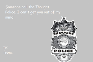 1984 Valentine-Thought Police by madizon3