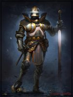 Paladin Knight by Cynic-pavel