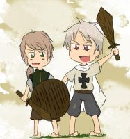 Hungary and Prussia by Fullmetalpoz