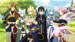 Sword Art Online Characters Alfheim by IGamer2016