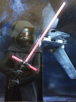 Miniature Kylo, Maximum Danger by RensKnight
