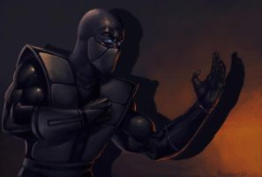 NOOB SAIBOT MKTrilogy by PitBOTTOM