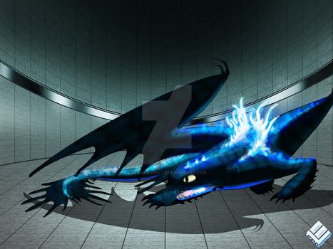 Rigel the Monstrous Night Fury: Alpha by LegendEffects
