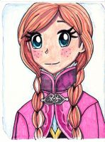 Princess Anna by Artfrog75