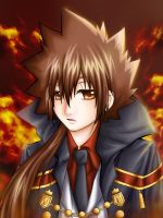 Tsuna 10 years later by Eranthe