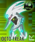 octo freak ,ben 10 OM by omnitrixradiation126