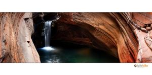 Karijini Water Fall II by Furiousxr