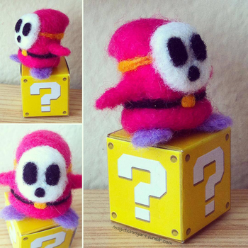 Shy Guy by MagicBunnyArt