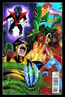 The Marvel Project Xmen Cover pt1 by fbwash