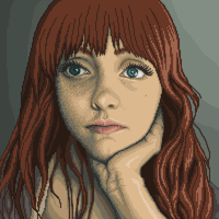 Self Portrait - DeviantART Avatar by BBreakfast