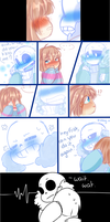 Sans x Frisk by Twinklii