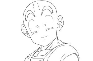 Krillin CloseUp_WIP by carapau