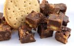 Chocolate Digestive Biscuit Fudge by claremanson