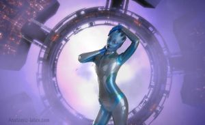 Asari by Violet-Spider