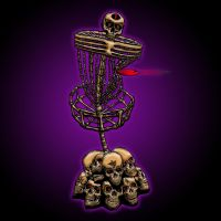 TWISTED SKELE-CRUSHED BASKET by BEYONDtheDISC