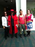 Anime Expo cosplayers by Qrow92