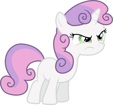 Angry Sweetie Belle by thardusi