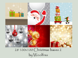 Bases 04 - Christmas by Woolfres