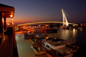 Lover's Bridge (night view) by esee