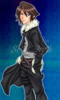 Squall Dissidia by sefie-ireth