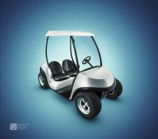 Golf Cart by fabioragonha