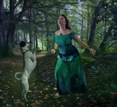 Dancing with would-be wolves by aamcclen