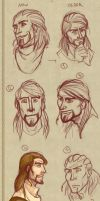 Age sketches by Cerviero