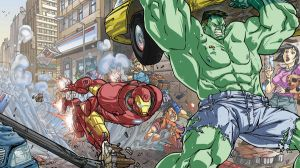 Iron manvs Hulk final by Elforim