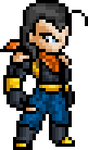 Super Android 17 by BLZofOZZ