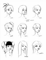 Hair Styles Vol 14 by ron-guyatt