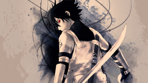 uchiha sasuke wallpaper by gameriuxlt