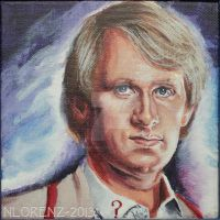 The Fifth Doctor: 50th Anniversary by napalmnacey