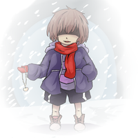 Savage Frisk by pika-chan2000