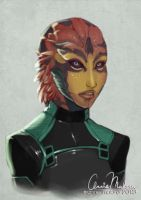 031813 Female Drell by merely-A