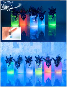 Glowing Fairy Elixirs by IvrinielsArtNCosplay