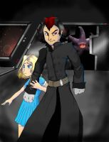 Shadow and Maria??? by Foolter
