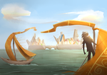 The Harbors of Zedia by stupidyou3