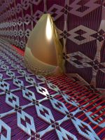Abstract M3D 022514 Golden Marker by CO99A5