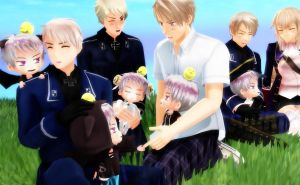 Oh look it's Prussia by AnimeLuvr15